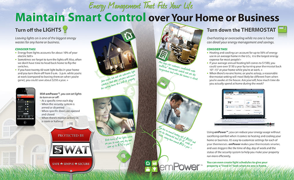 EMpower Home Security Print Design