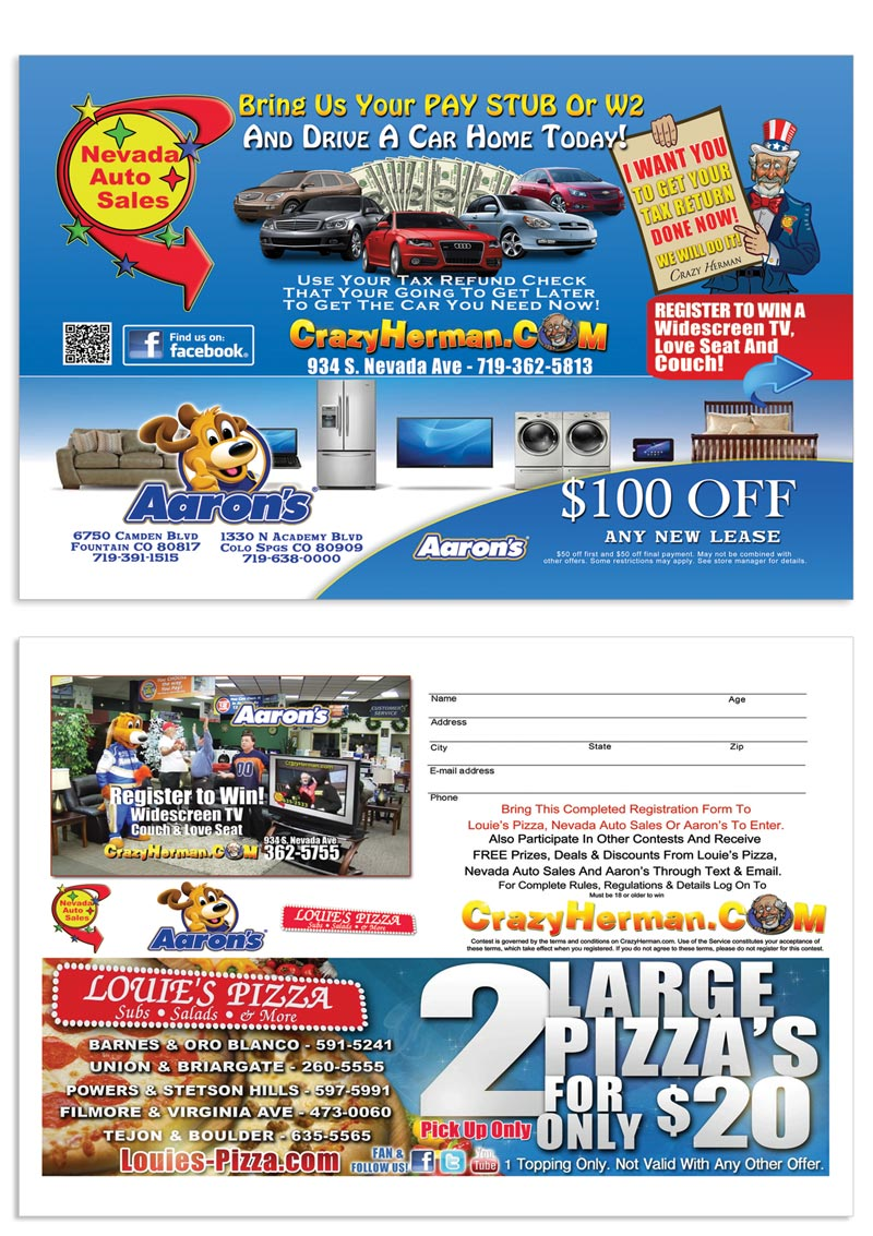 Nevada Auto Sales Magazine Ad Colorado Springs