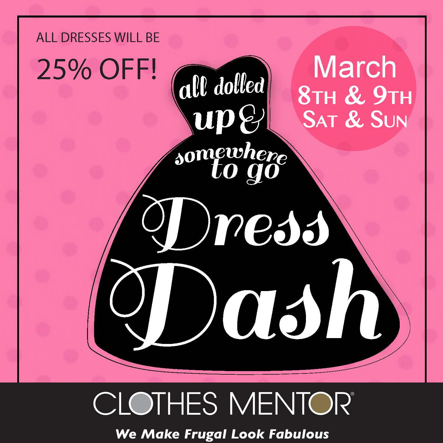 Dress Dash At Clothes Mentor